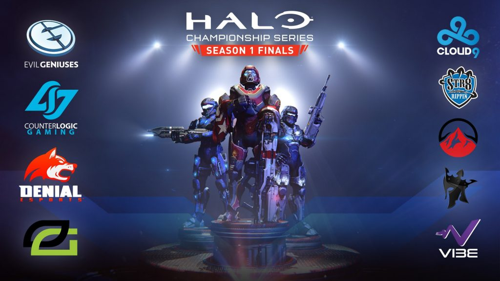 Halo 2 World Championship Poster