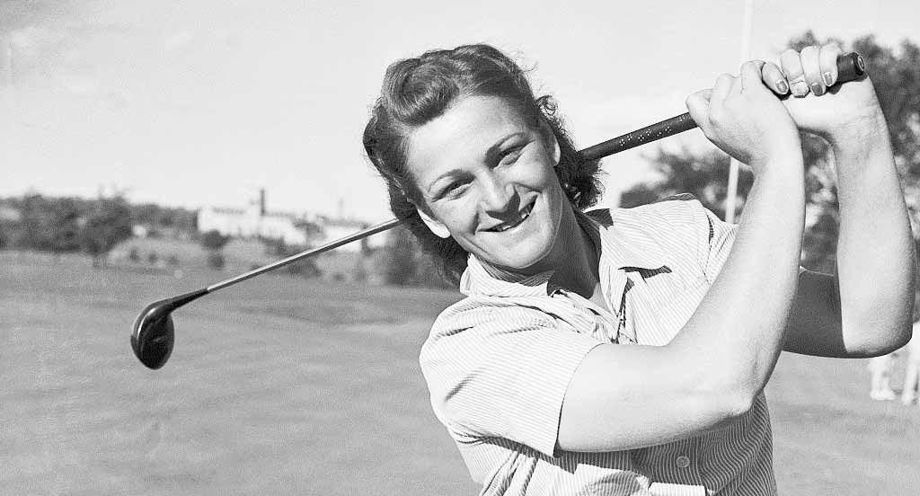 """Mildred """"Babe"""" Zaharias, USA - Best female golfers of all time"""