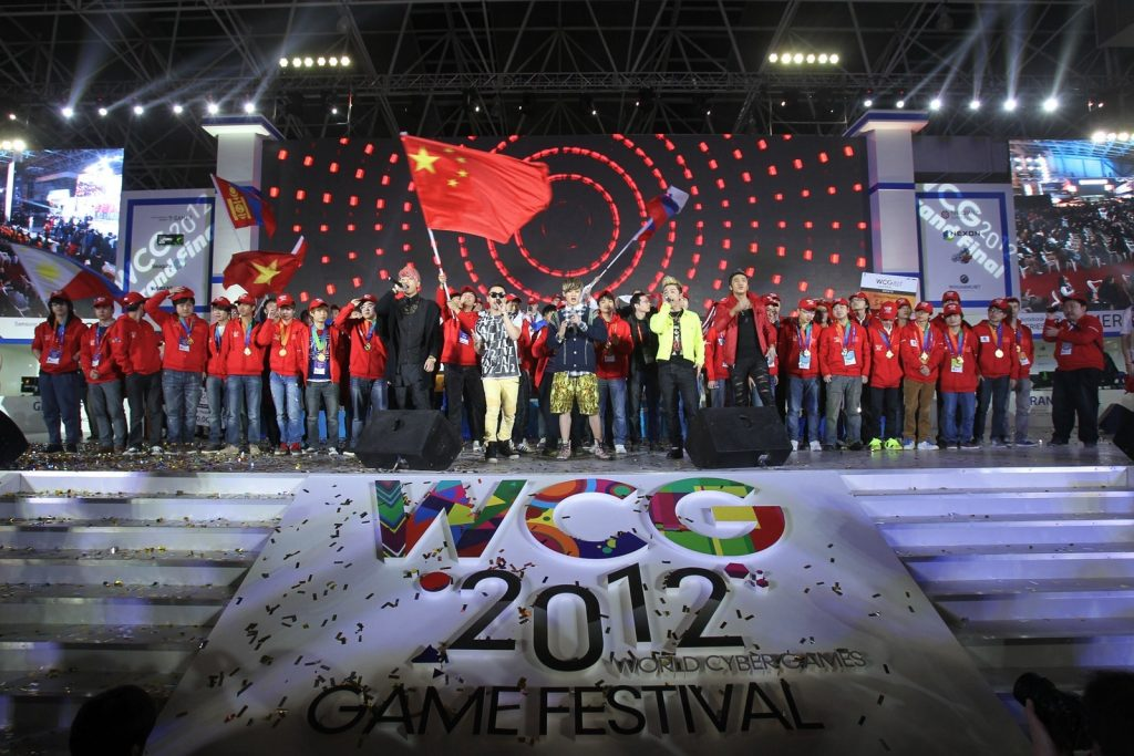 World Cyber Games Opening in 2012